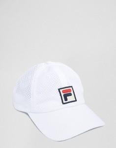 Белая сетчатая бейсболка Fila Vintage - Белый
