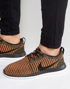 Красные кроссовки Nike Roshe Two Flyknit 844833-009 - Красный