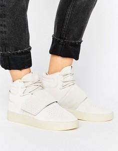 Бежевые кроссовки adidas Originals Invader - Коричневый