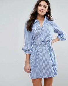 Комбинируемая рубашка в полоску Y.A.S Kolo - Синий