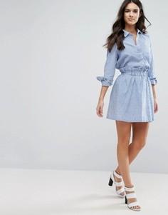 Комбинируемая юбка в полоску Y.A.S Kolo - Синий