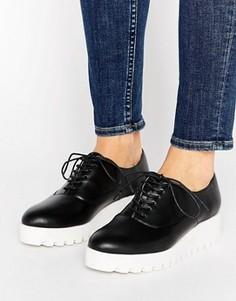 Туфли на платформе London Rebel - Черный