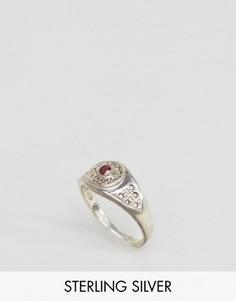 Серебряное кольцо с камнем Regal Rose Ethereal - Серебряный
