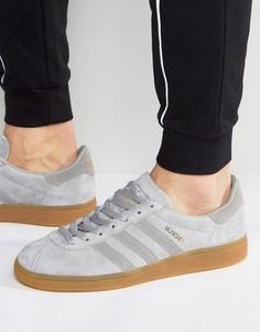 Серые кроссовки adidas Originals Munchen BB5293 - Серый
