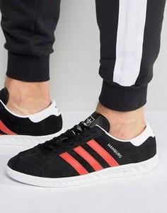 Черные кроссовки adidas Originals Hamburg BB5300 - Черный