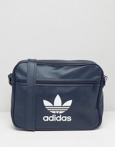 Сумка Adidas Airliner - Темно-синий