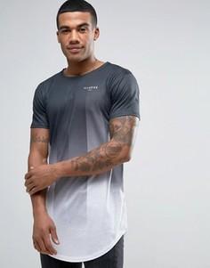 Черная футболка с эффектом деграде Illusive London - Черный