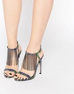 Босоножки на каблуке ASOS HALF MOON - Мульти