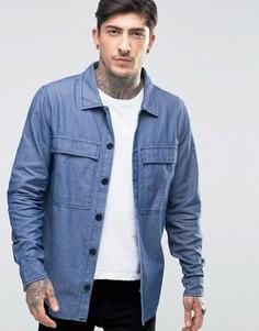Рубашка с непсами Another Influence - Синий