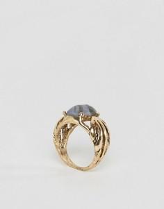 Винтажное кольцо с камнями ASOS - Серый