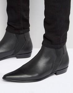 Кожаные ботинки челси Religion - Черный