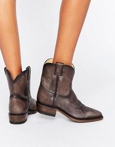 Кожаные ботинки в стиле вестерн Frye Billy - Серый