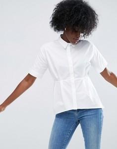 Хлопковая рубашка ASOS - Белый