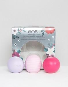 Три бальзама для губ ограниченной серии EOS - Прозрачный