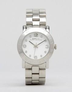 Серебристые часы Marc Jacobs Amy MBM3054 - Серебряный