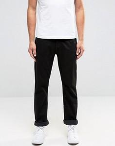 Черные стретчевые джинсы слим Lee Daren - Черный
