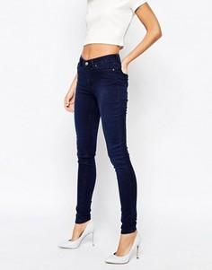 Суперстретчевые джинсы скинни Weekday - Синий