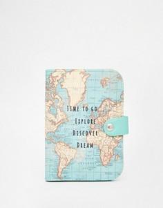 Обложка для паспорта Sass & Belle Time To Explore - Мульти