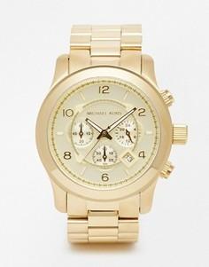 Часы Michael Kors Runway MK8077 - Золотой