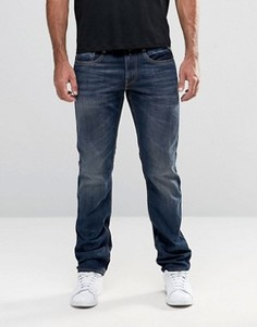 Узкие темные джинсы Replay Jeans Anbass - Синий