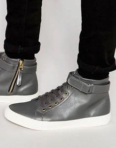 Высокие кроссовки Walk London Finchley - Серый
