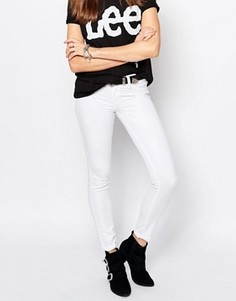Эластичные джинсы скинни Lee Scarlett - Белый