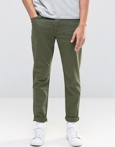 Зеленые джинсы скинни ASOS - Зеленый