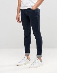 Облегающие джинсы с кромкой Bethnals Pete - Синий
