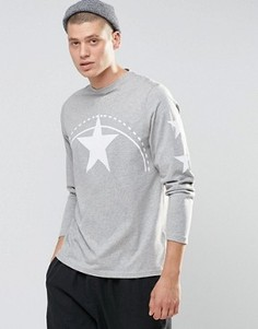 Лонгслив Playground Star - Серый