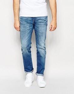 Узкие светло-синие джинсы Esprit - Синий