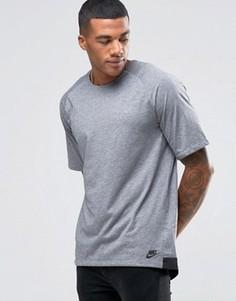 Серая трикотажная футболка Nike 805122-091 - Серый