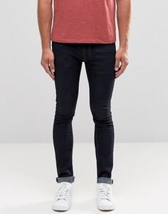 Темно-синие джинсы скинни Religion Hero - Белый