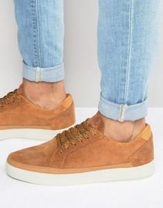 Замшевые кроссовки Boxfresh Civik - Рыжий