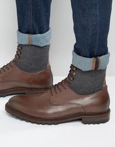 Оксфордские туфли на толстой подошве Aldo Rampino - Коричневый