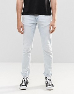 Облегающие джинсы Nudie Long John - Синий