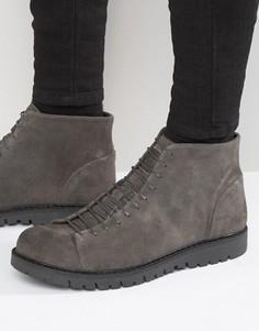 Замшевые ботинки Walk London Bethnal - Темно-синий