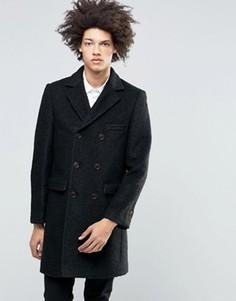 Пальто из вареной шерсти Gianni Feraud Premium - Черный