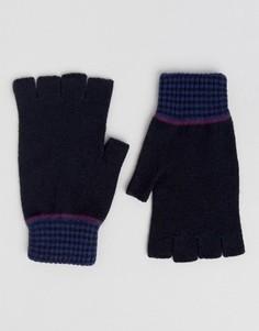 Перчатки без пальцев Ted Baker - Синий