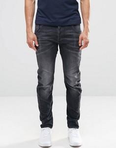 Серые выбеленные джинсы кроя слим G-Star Arc 3D - Серый