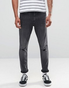 Суженные книзу джинсы Cheap Monday - Серый
