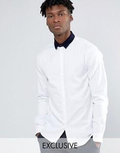 Облегающая рубашка Noak - Белый