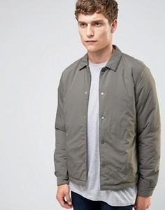 Теплая спортивная куртка Selected Homme - Серый