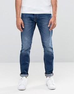 Синие джинсы слим Jack & Jones Intelligence - Черный