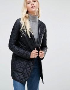 Черная стеганая куртка-пилот Cooper & Stollbrand - Черный