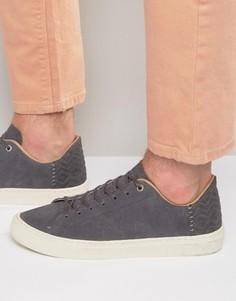 Замшевые кроссовки TOMS Lenox - Серый