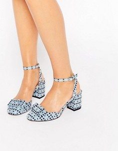Туфли на каблуке с бантиками ASOS SPREE - Мульти
