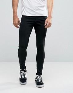 Супероблегающие джинсы Dr Denim Dixy - Черный
