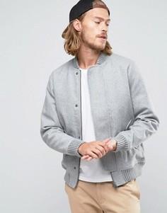Шерстяная куртка‑пилот RVLT Revolution - Серый