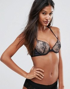 Бюстгальтер пуш-ап Wonderbra Luxe Collection - Черный