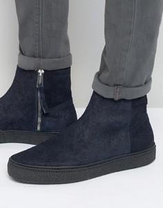 Ботинки челси на крепированной подошве Paul Smith Deller - Темно-синий
